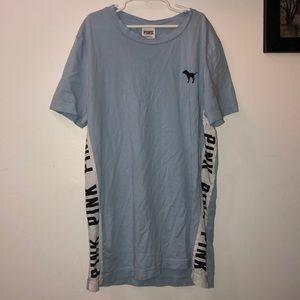 Light Blue Pink T-Shirt